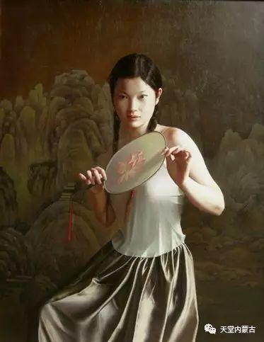 内蒙古画家——晓青油画作品欣赏 第16张 内蒙古画家——晓青油画作品欣赏 蒙古画廊