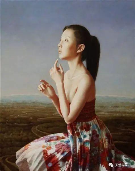 内蒙古画家——晓青油画作品欣赏 第17张 内蒙古画家——晓青油画作品欣赏 蒙古画廊