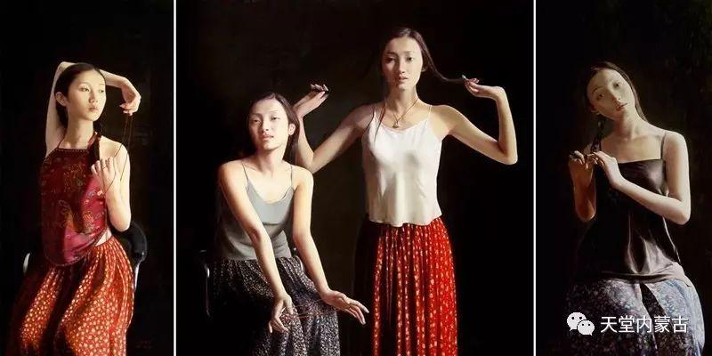 内蒙古画家——晓青油画作品欣赏 第20张 内蒙古画家——晓青油画作品欣赏 蒙古画廊
