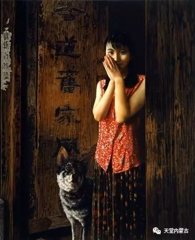 内蒙古画家——晓青油画作品欣赏 第23张 内蒙古画家——晓青油画作品欣赏 蒙古画廊