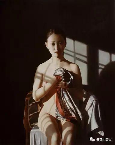 内蒙古画家——晓青油画作品欣赏 第22张 内蒙古画家——晓青油画作品欣赏 蒙古画廊