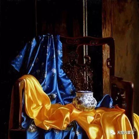内蒙古画家——晓青油画作品欣赏 第25张 内蒙古画家——晓青油画作品欣赏 蒙古画廊