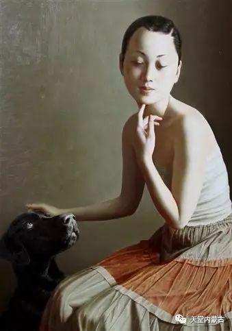 内蒙古画家——晓青油画作品欣赏 第24张 内蒙古画家——晓青油画作品欣赏 蒙古画廊