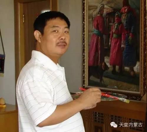 🔴内蒙古油画家胡贵明---油画作品 第1张