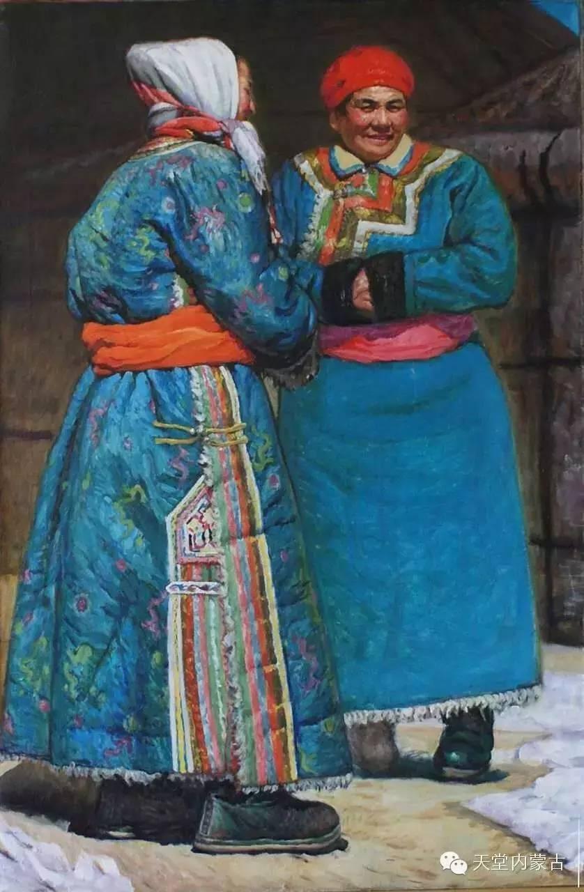 🔴内蒙古油画家胡贵明---油画作品 第3张