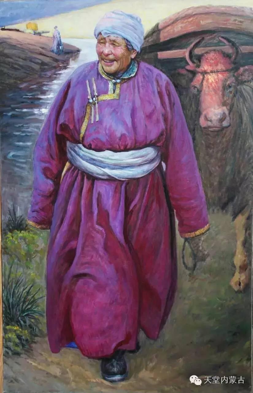 🔴内蒙古油画家胡贵明---油画作品 第2张