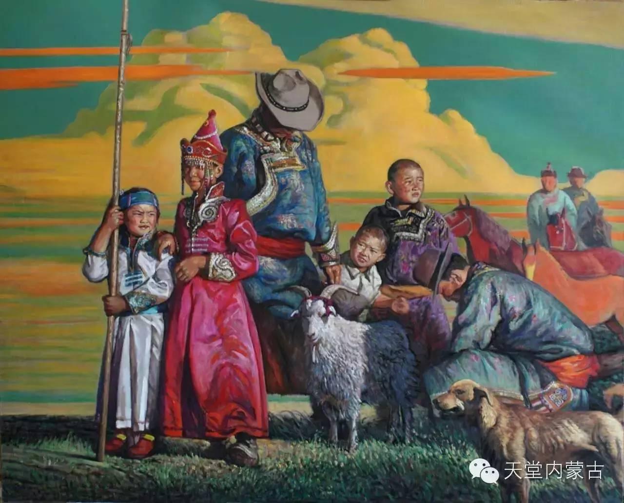 🔴内蒙古油画家胡贵明---油画作品 第5张