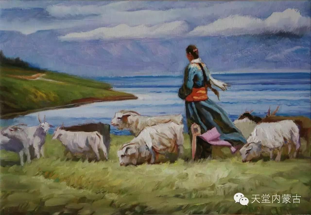 🔴内蒙古油画家胡贵明---油画作品 第4张