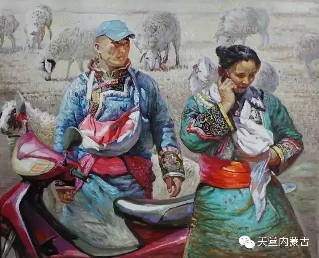 🔴内蒙古油画家胡贵明---油画作品 第6张