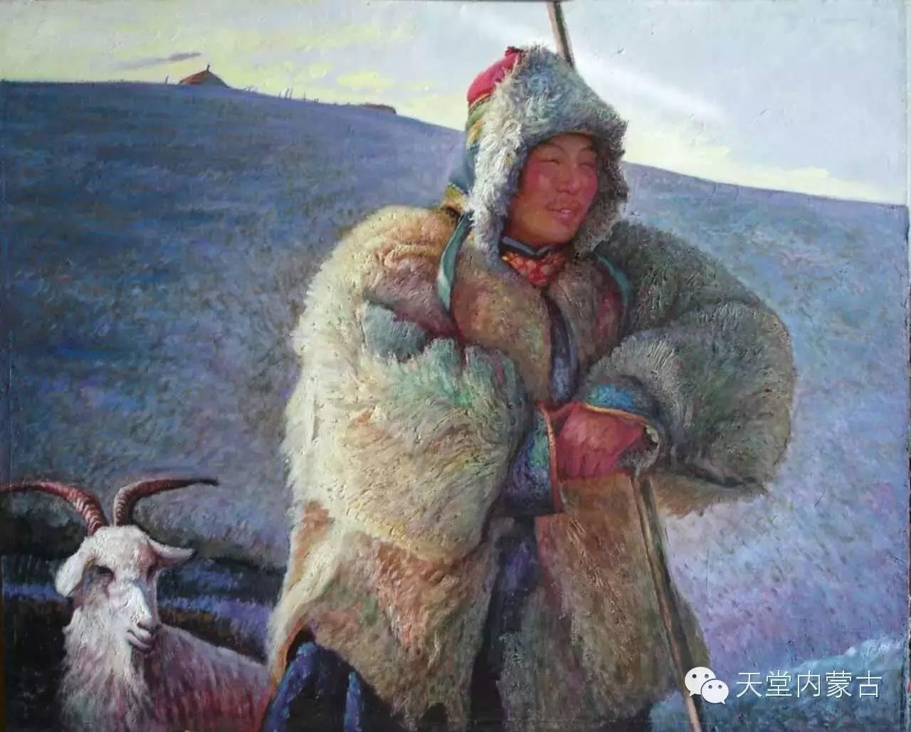 🔴内蒙古油画家胡贵明---油画作品 第8张