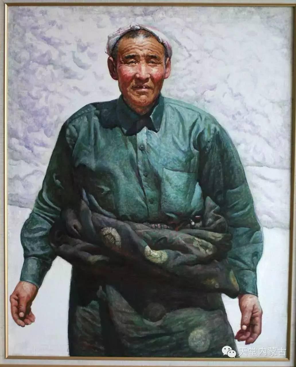 🔴内蒙古油画家胡贵明---油画作品 第11张