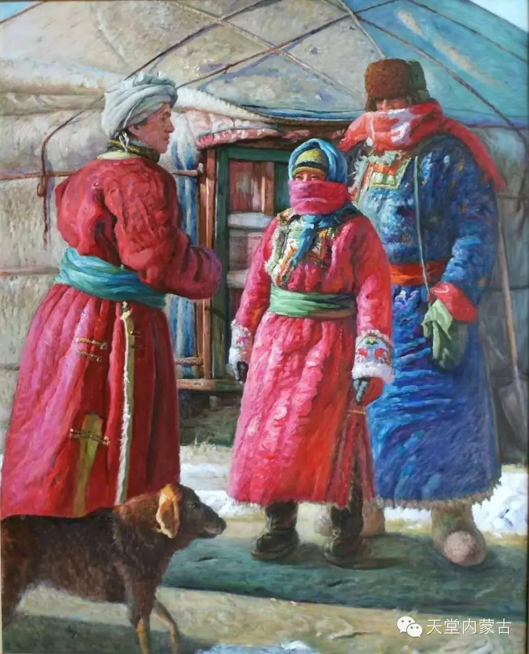 🔴内蒙古油画家胡贵明---油画作品 第13张