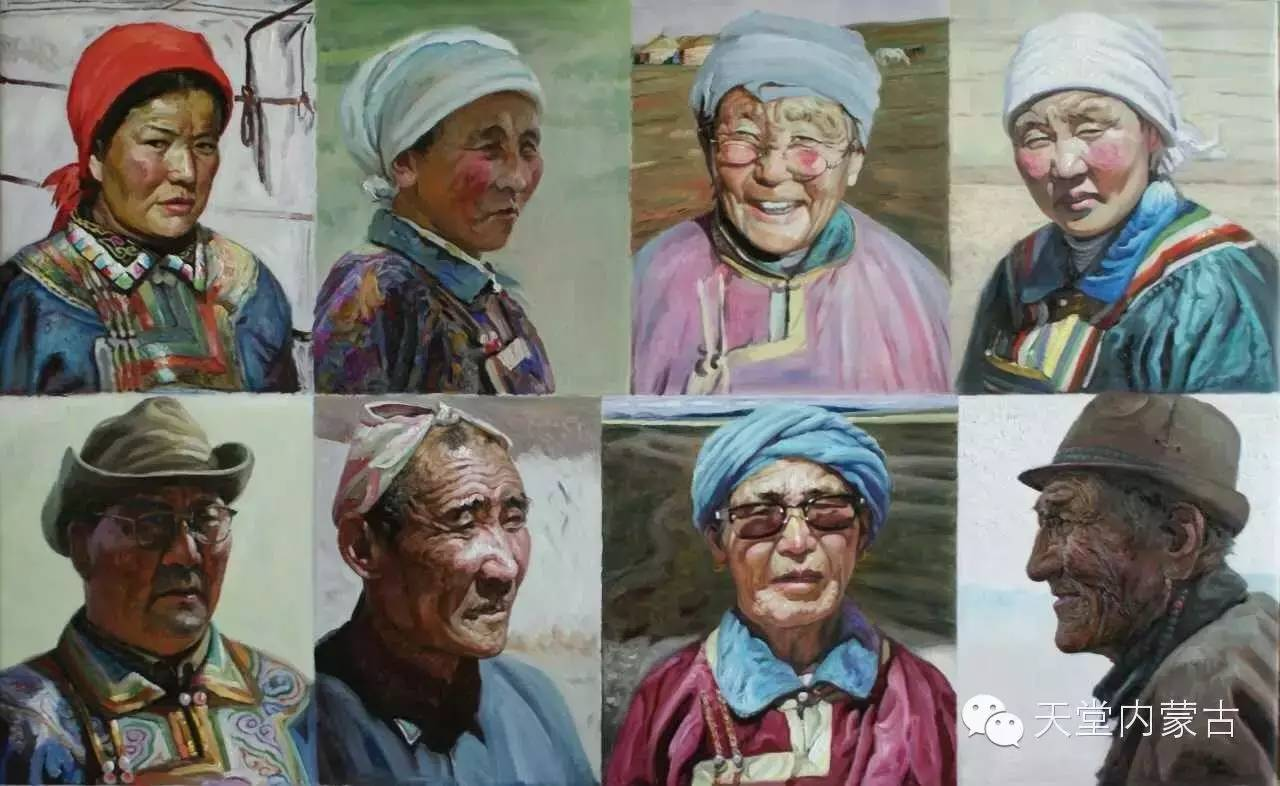 🔴内蒙古油画家胡贵明---油画作品 第16张