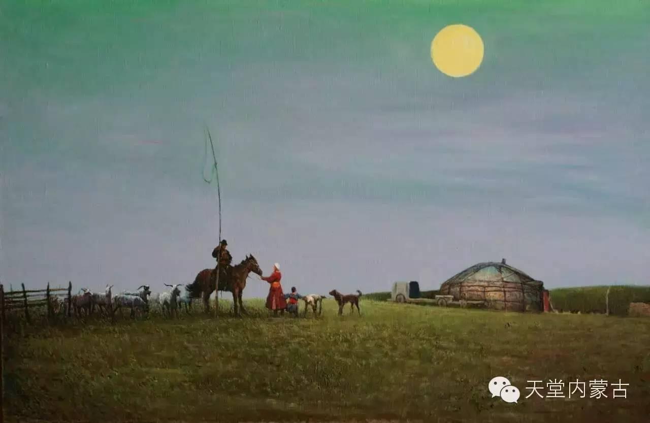 🔴内蒙古油画家胡贵明---油画作品 第18张