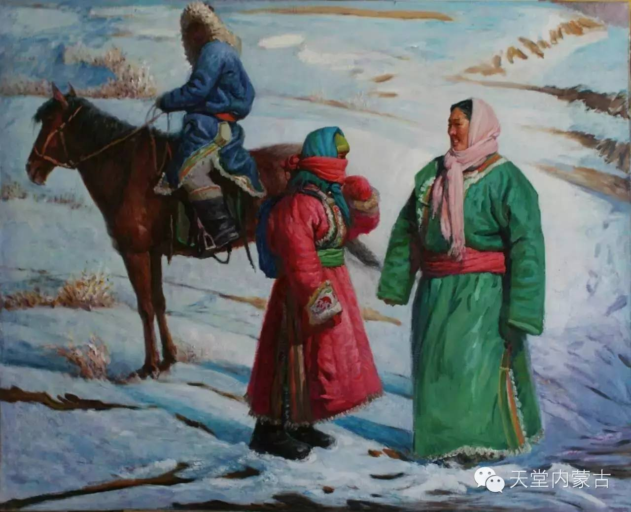 🔴内蒙古油画家胡贵明---油画作品 第21张