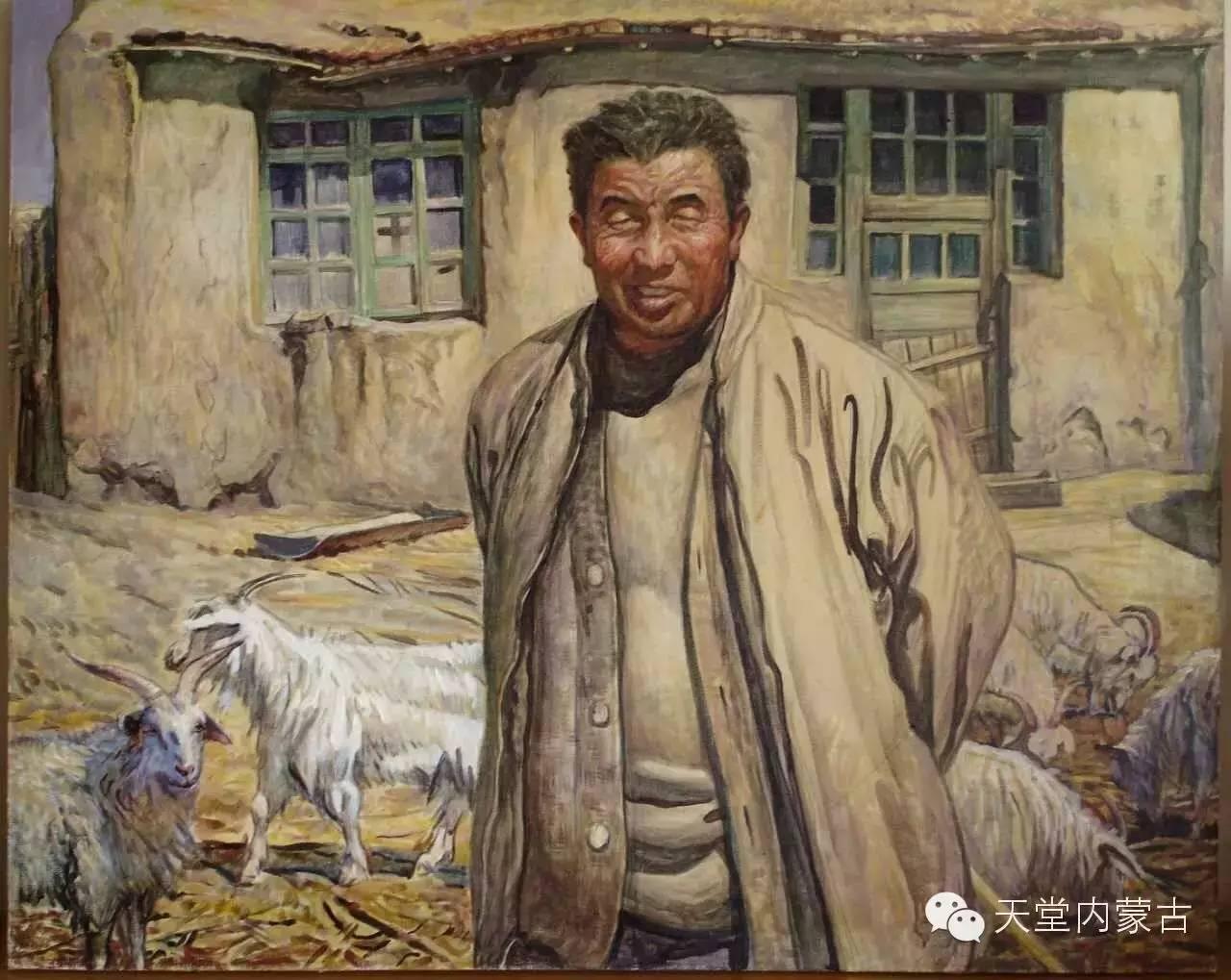 🔴内蒙古油画家胡贵明---油画作品 第25张