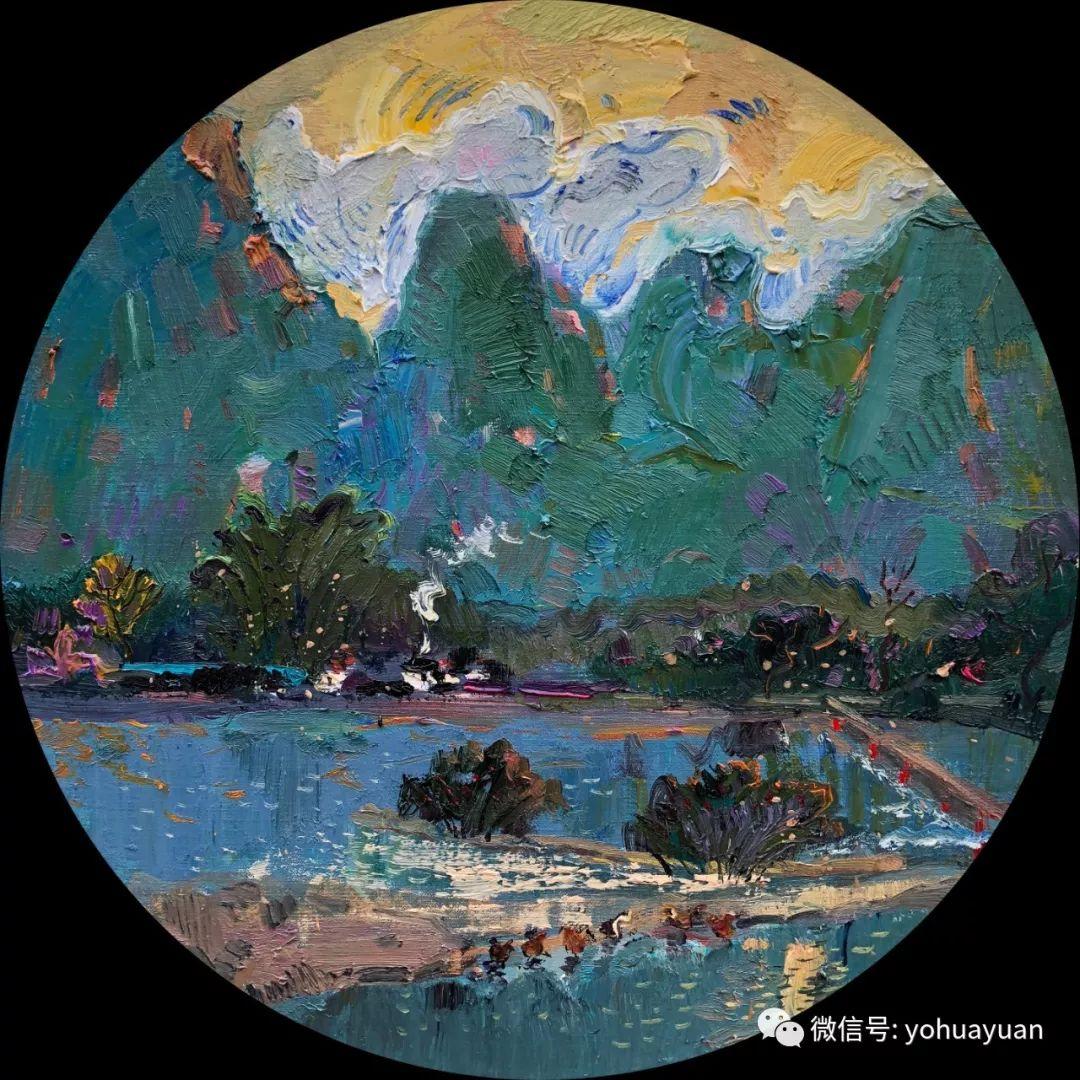 油画作品拍卖(内蒙古草原写生) 第107张