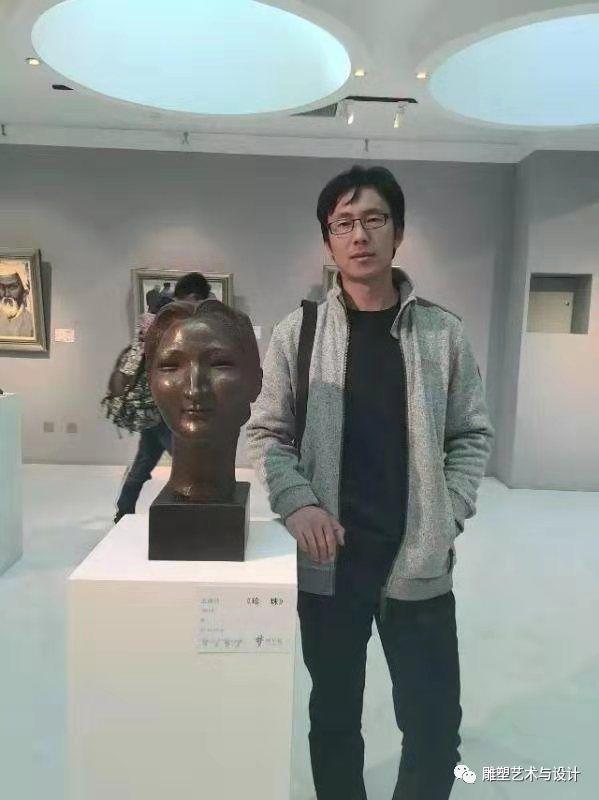 内蒙古建筑职业技术学院雕塑专业教师岳布仁作品 第1张