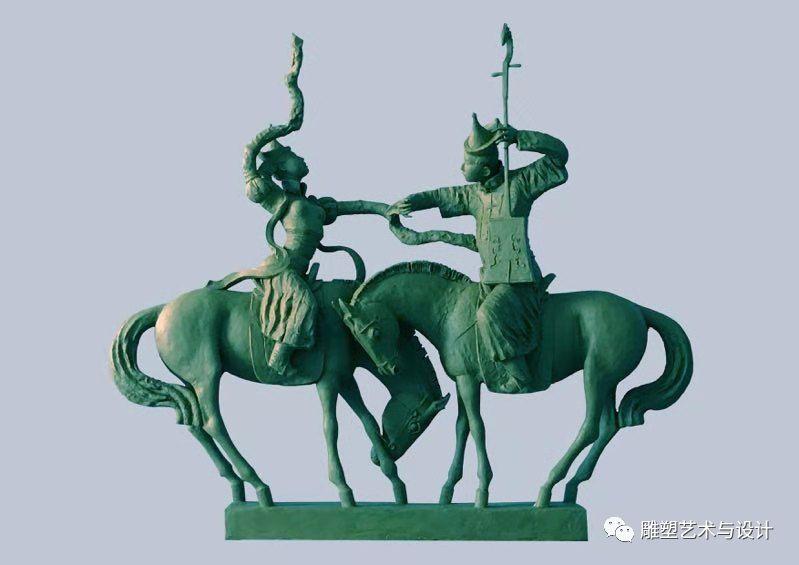 内蒙古建筑职业技术学院雕塑专业教师岳布仁作品 第2张