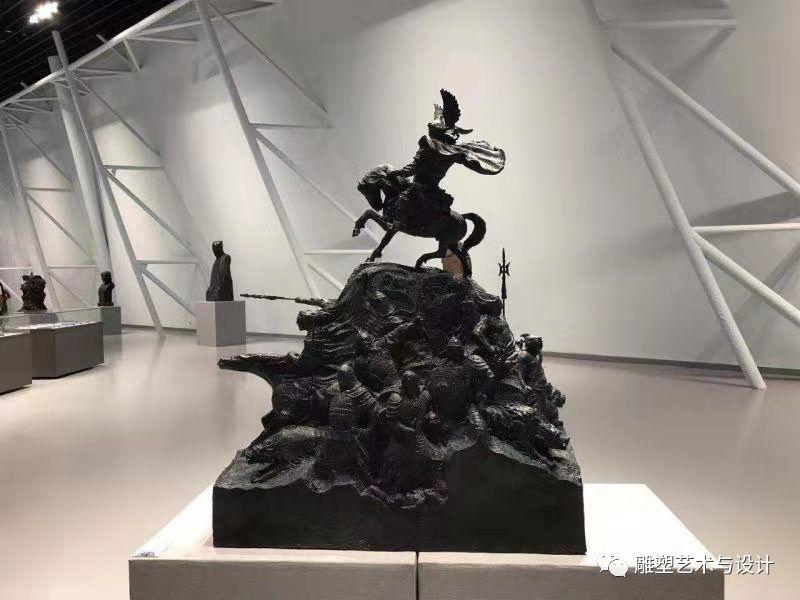 内蒙古建筑职业技术学院雕塑专业教师岳布仁作品 第7张