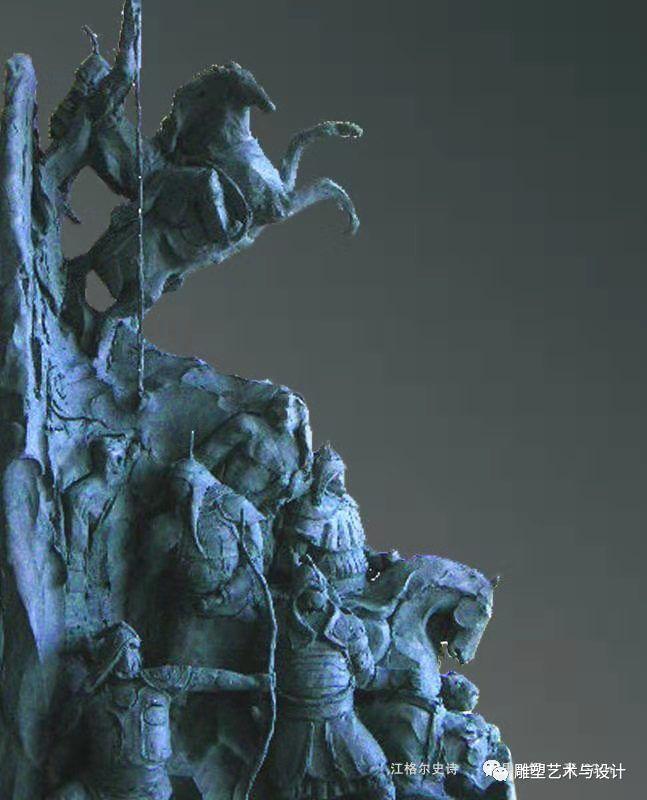 内蒙古建筑职业技术学院雕塑专业教师岳布仁作品 第11张