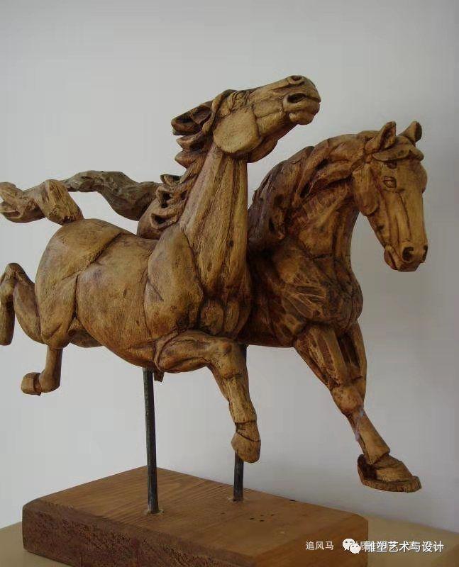 内蒙古建筑职业技术学院雕塑专业教师岳布仁作品 第12张