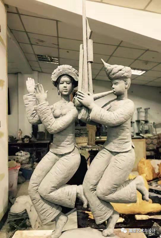 内蒙古建筑职业技术学院雕塑专业教师岳布仁作品 第17张