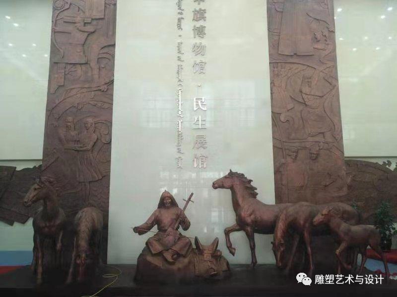 内蒙古建筑职业技术学院雕塑专业教师岳布仁作品 第18张