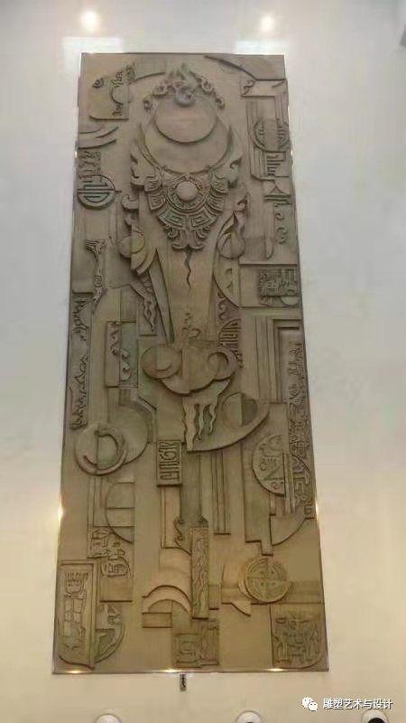 内蒙古建筑职业技术学院雕塑专业教师岳布仁作品 第20张