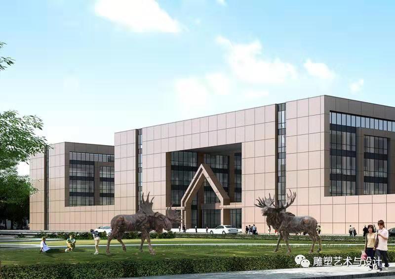 内蒙古建筑职业技术学院雕塑专业教师岳布仁作品 第22张