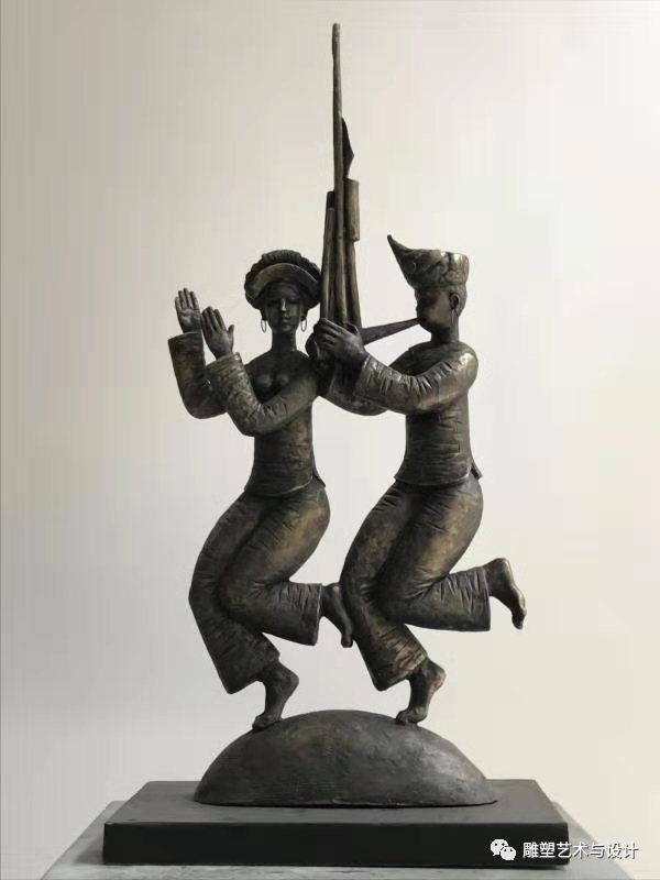 内蒙古建筑职业技术学院雕塑专业教师岳布仁作品 第24张