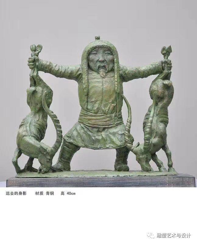 内蒙古建筑职业技术学院雕塑专业教师岳布仁作品 第25张