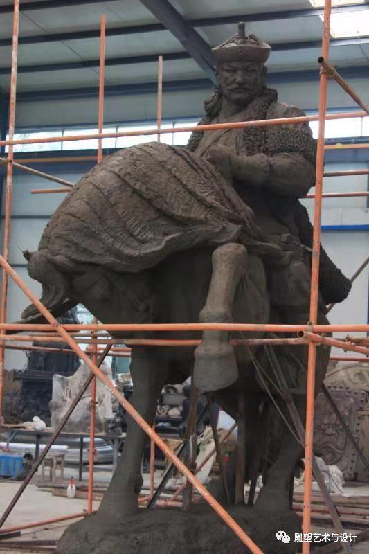 内蒙古建筑职业技术学院雕塑专业教师岳布仁作品 第27张