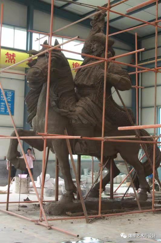 内蒙古建筑职业技术学院雕塑专业教师岳布仁作品 第30张