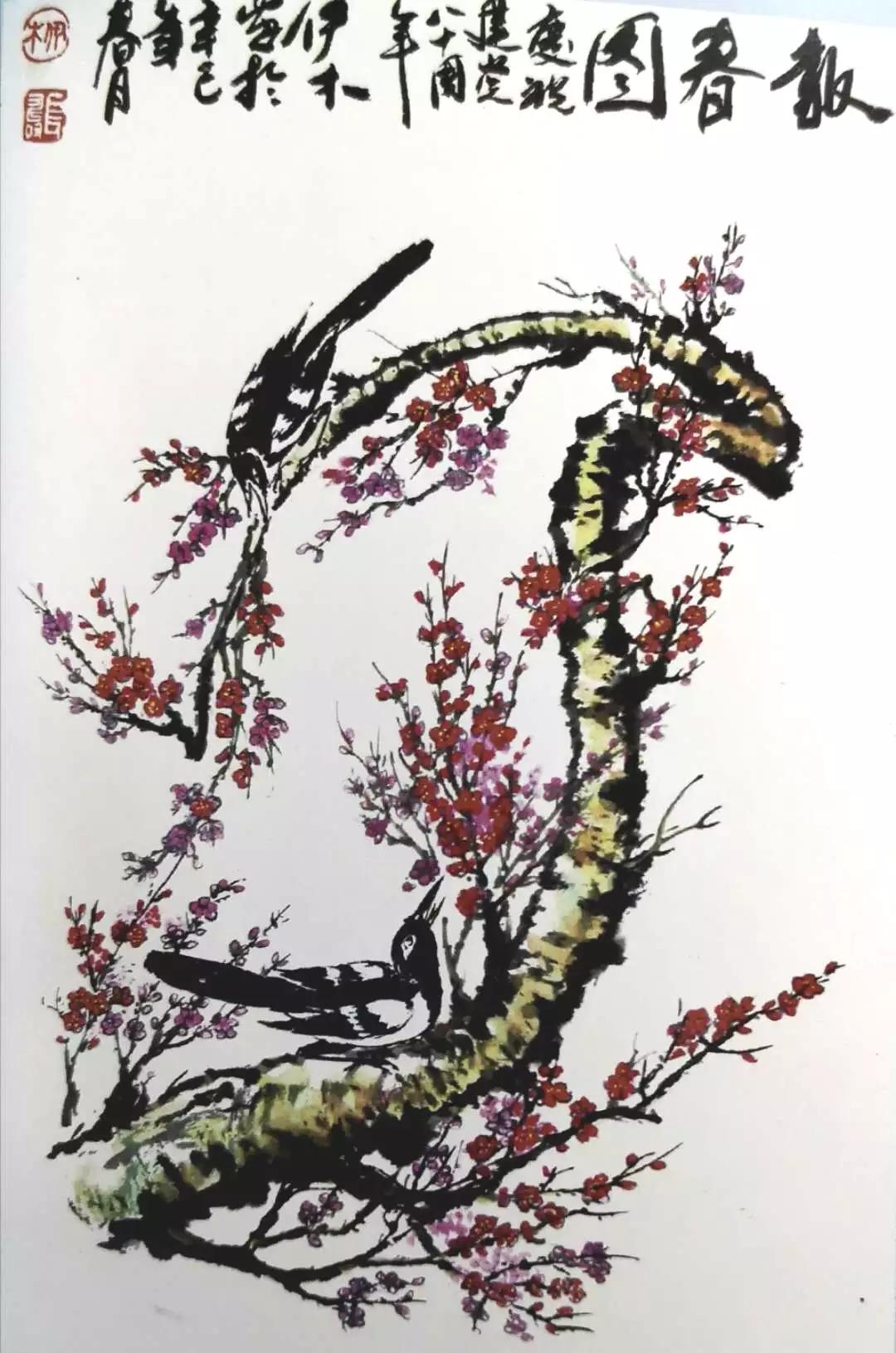 蒙古族画家|伊木舍楞 第8张 蒙古族画家|伊木舍楞 蒙古画廊