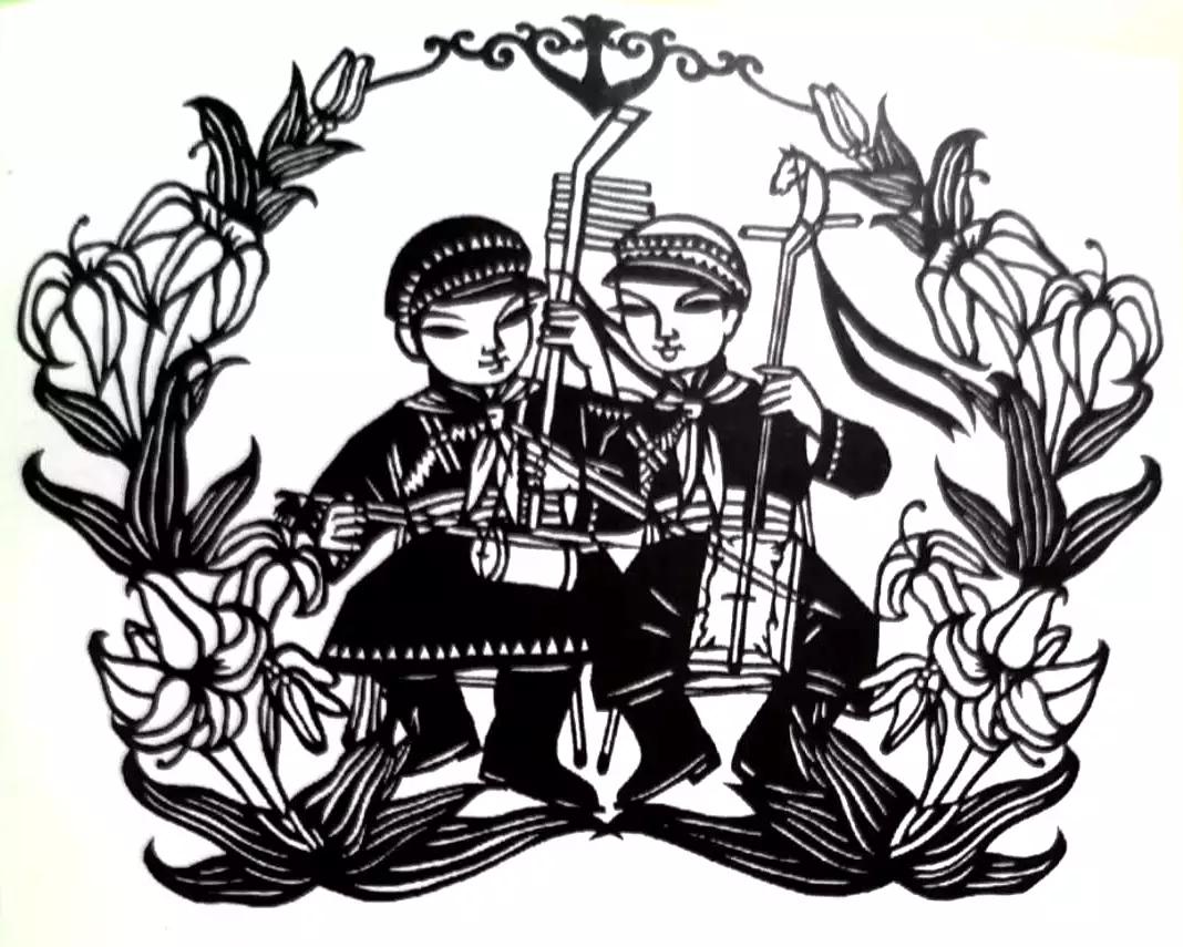 蒙古族画家|伊木舍楞 第6张 蒙古族画家|伊木舍楞 蒙古画廊