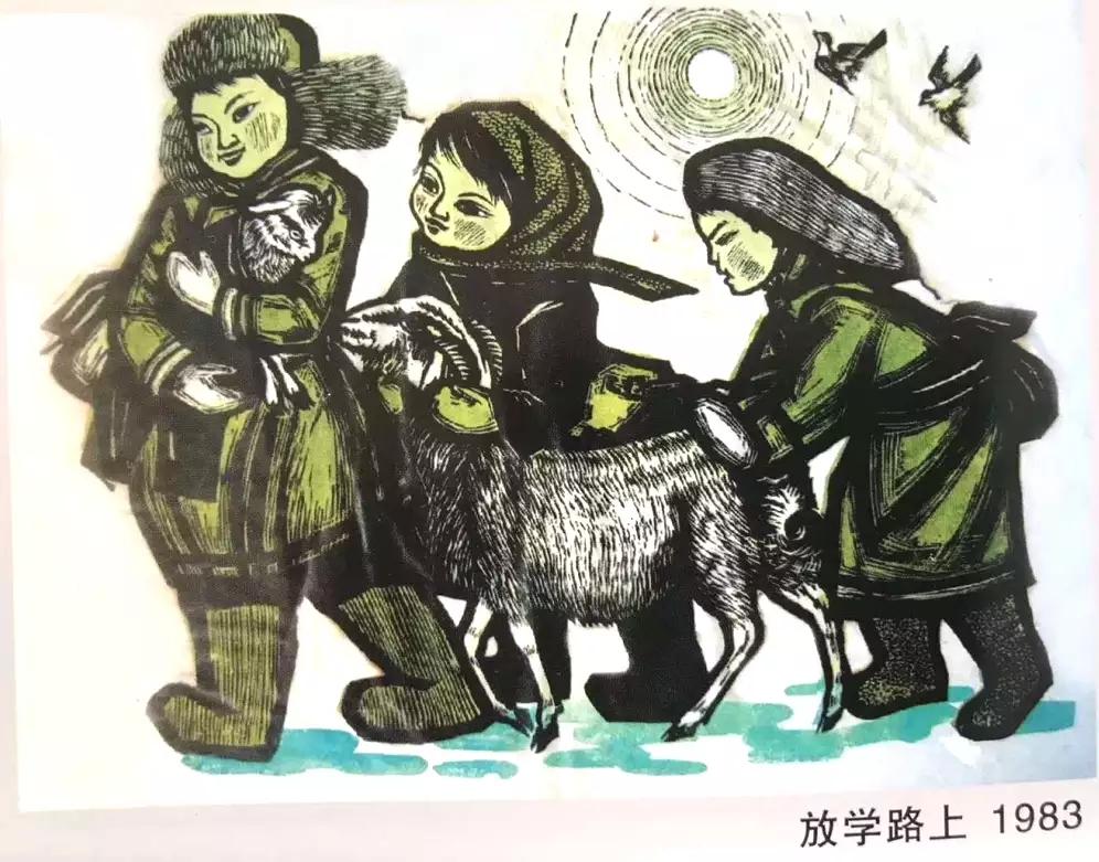 蒙古族画家|伊木舍楞 第15张 蒙古族画家|伊木舍楞 蒙古画廊