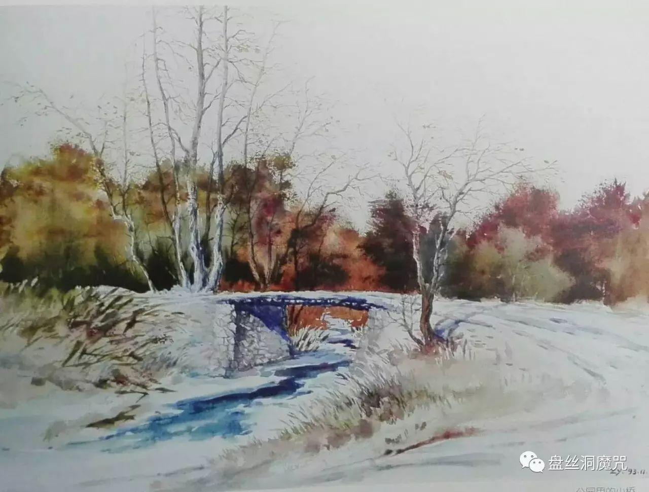 马志有水彩作品欣赏 第9张
