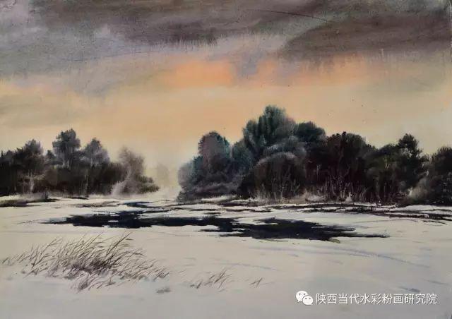 马志有水彩作品欣赏 第8张