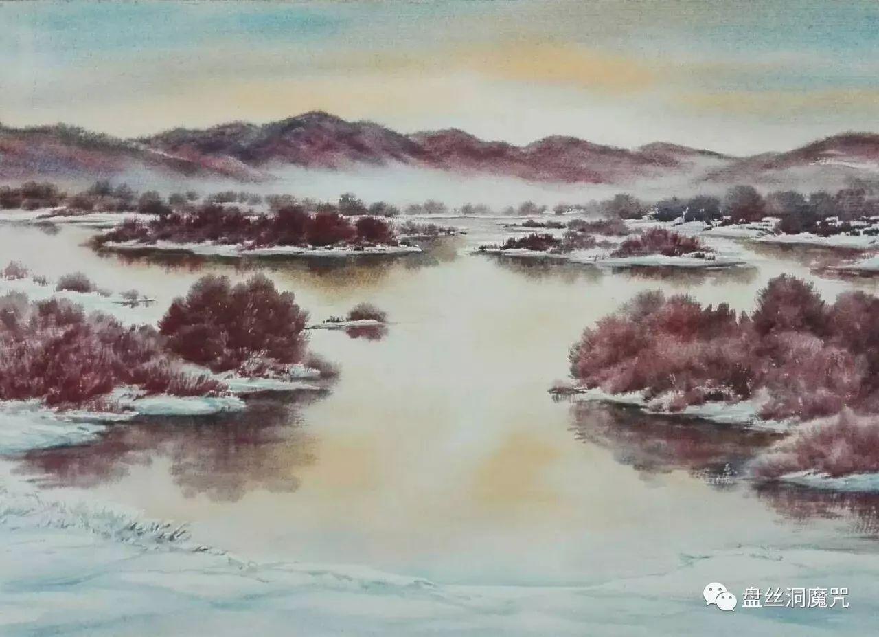 马志有水彩作品欣赏 第11张