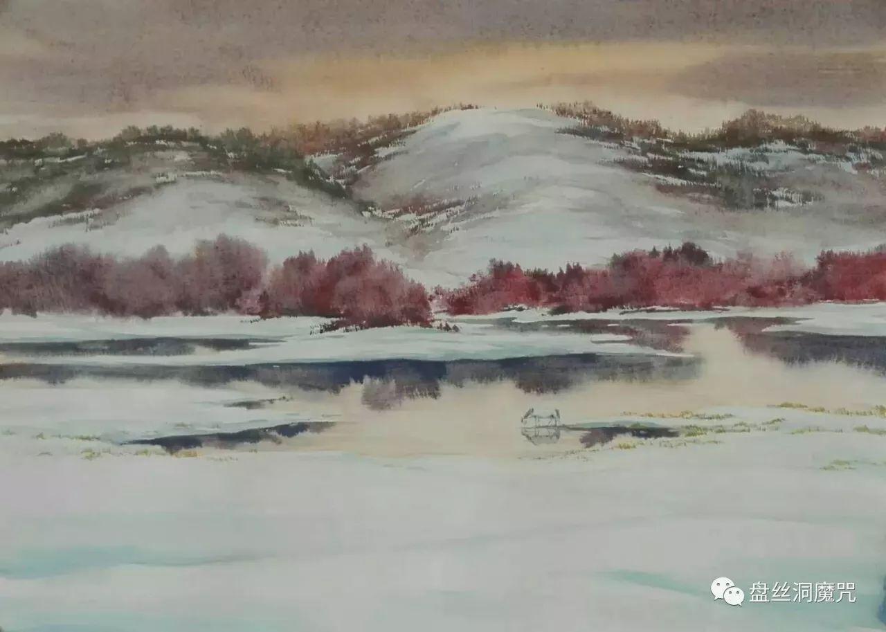 马志有水彩作品欣赏 第10张