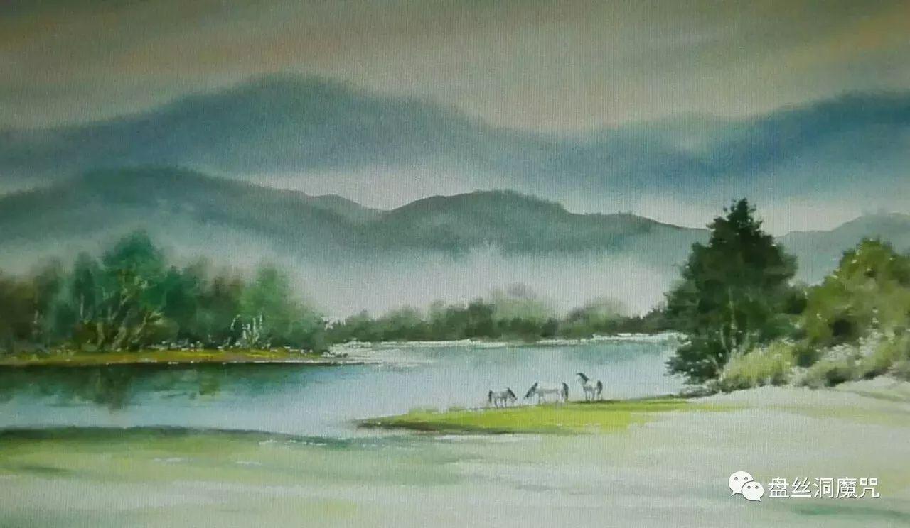 马志有水彩作品欣赏 第12张