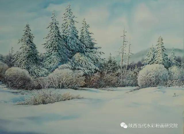 马志有水彩作品欣赏 第20张