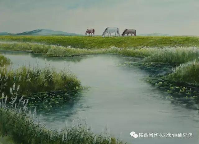 马志有水彩作品欣赏 第21张