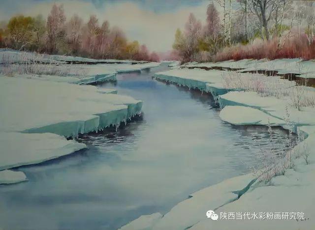 马志有水彩作品欣赏 第24张