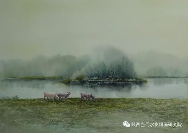 马志有水彩作品欣赏 第26张