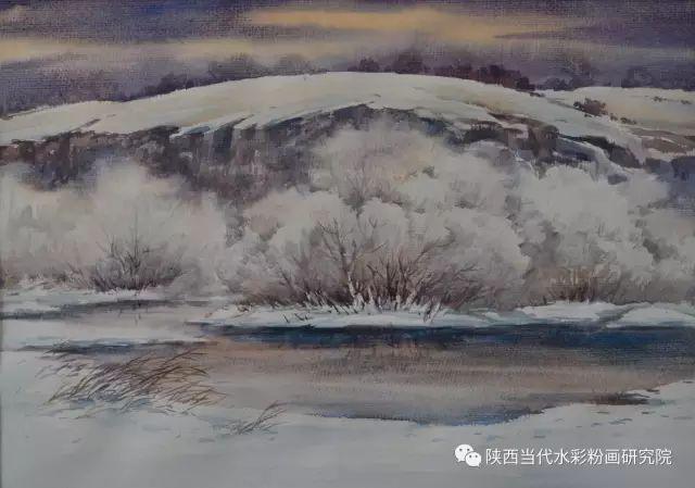 马志有水彩作品欣赏 第35张