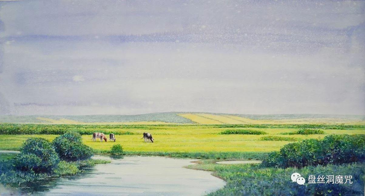 林树岭水彩作品欣赏 第10张