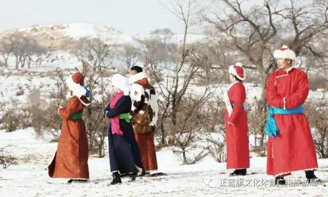 冰雪察哈尔丨察哈尔服饰的魅力 第15张 冰雪察哈尔丨察哈尔服饰的魅力 蒙古服饰