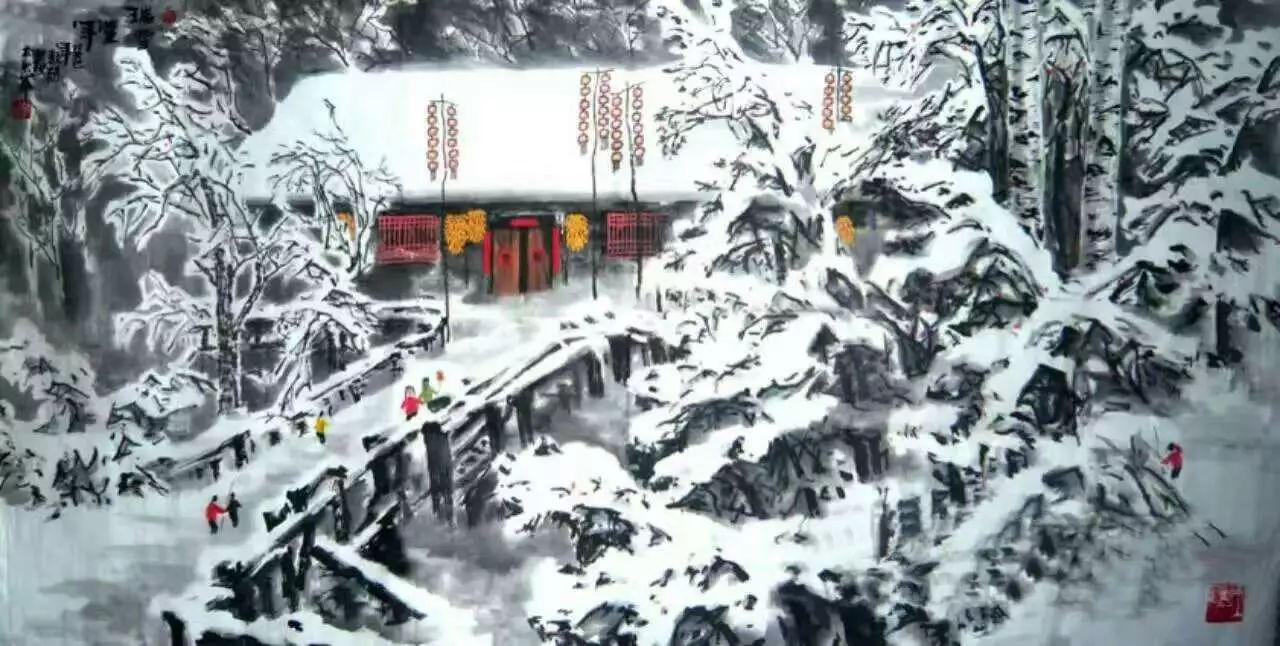 【人物传真】著名蒙古族青年艺术家——敖特 第18张 【人物传真】著名蒙古族青年艺术家——敖特 蒙古画廊